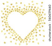 valentines heart formed from...   Shutterstock .eps vector #560659660