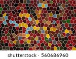bright color mosaic background.