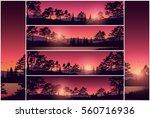 set stock vector illustration... | Shutterstock .eps vector #560716936