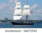 Traditional Sailing Ship In...