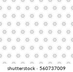 abstract decorative floral... | Shutterstock . vector #560737009