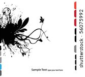 abstract grunge background... | Shutterstock .eps vector #56075992