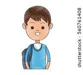 boy cartoon icon | Shutterstock .eps vector #560761408