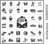 Set Of Travel Icons. Contains...
