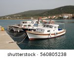 agistri  greece   may 12  2016  ... | Shutterstock . vector #560805238