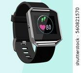 smart watch concept vector...   Shutterstock .eps vector #560821570