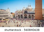 Piazza San Marco With The...