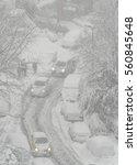 winter background | Shutterstock . vector #560845648