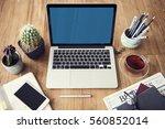 computer network connection... | Shutterstock . vector #560852014
