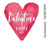 heart  valentines day... | Shutterstock .eps vector #560857894