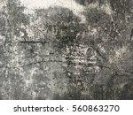 dark vintage cement concrete... | Shutterstock . vector #560863270