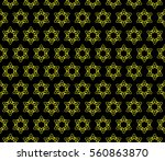 fancy raster copy geometric... | Shutterstock . vector #560863870