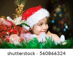 Child Waiting For Christmas