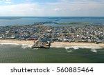 casino pier  an amusement park... | Shutterstock . vector #560885464