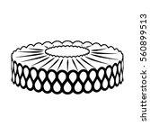 vector image of collar | Shutterstock .eps vector #560899513