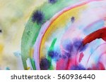 circle abstract colorful... | Shutterstock . vector #560936440