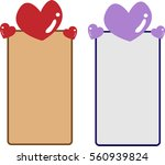 heart labels | Shutterstock .eps vector #560939824
