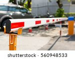barrier gate automatic system ... | Shutterstock . vector #560948533