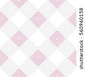 geometric seamless pattern with ... | Shutterstock .eps vector #560960158