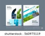 business vector. brochure...   Shutterstock .eps vector #560975119
