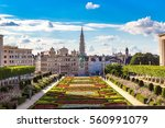 Cityscape of Brussels in a beautiful summer day, Belgium