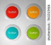 Web Round Button For Website O...