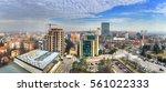 sofia   bulgaria  aerial view... | Shutterstock . vector #561022333