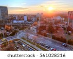 beautiful panoramic view over... | Shutterstock . vector #561028216