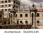 quito  ecuador   jan 1  2015 ... | Shutterstock . vector #561041134