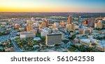 top view of downtown san... | Shutterstock . vector #561042538