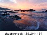Sunrise At A Beautiful Beach...