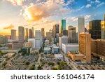 Downtown Houston Skyline Texas Usa - Fine Art prints