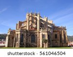Gothic Catholic Temple  Church...