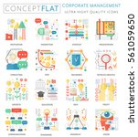 infographics mini concept...   Shutterstock .eps vector #561059650