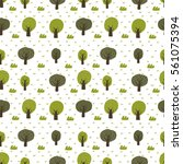 seamless vector pattern with... | Shutterstock .eps vector #561075394