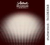 abstract halftone background.... | Shutterstock .eps vector #561083068