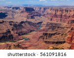 Grand Canyon and Colorado River in Arizona, USA