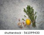 Rosemary Lemon And Garlic...