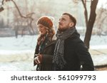 young unhappy depressed couple | Shutterstock . vector #561099793
