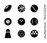 sport vector icons | Shutterstock .eps vector #561116254