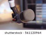 microphone | Shutterstock . vector #561120964
