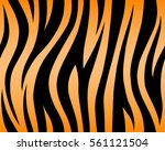 tiger texture abstract... | Shutterstock .eps vector #561121504