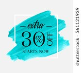 sale extra 30  off sign over... | Shutterstock .eps vector #561121939