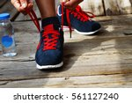 concept  healthy lifestyle ... | Shutterstock . vector #561127240