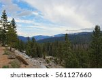 yosemite valley in the national ... | Shutterstock . vector #561127660