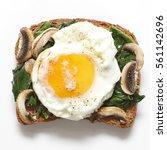 bruschetta bread | Shutterstock . vector #561142696