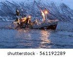 Fishing Boat Fishing For...