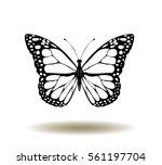 vector illustration of vintage... | Shutterstock .eps vector #561197704