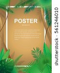poster  vector  nature and... | Shutterstock .eps vector #561246010