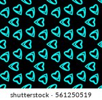 geometric shape abstract vector ... | Shutterstock .eps vector #561250519